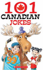 Book cover of 101 CANADIAN JOKES