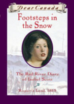 Book cover of DC - FOOTSTEPS IN THE SNOW