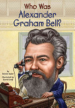 Book cover of WHO WAS ALEXANDER GRAHAM BELL