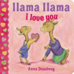 Book cover of LLAMA LLAMA I LOVE YOU