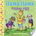 Book cover of LLAMA LLAMA EASTER EGG