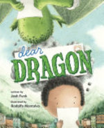 Book cover of DEAR DRAGON - A PEN PAL TALE