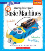 Book cover of AMAZING MAKERSPACE DIY BASIC MACHINES