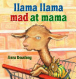 Book cover of LLAMA LLAMA MAD AT MAMA
