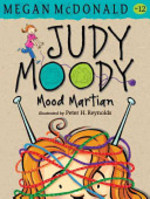 Book cover of JUDY MOODY MOOD MARTIAN