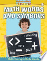 Book cover of MATH WORDS & SYMBOLS