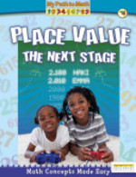 Book cover of PLACE VALUE THE NEXT STAGE