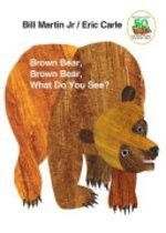 Book cover of BROWN BEAR BROWN BEAR BOARD BOOK