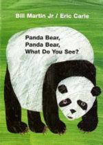 Book cover of PANDA BEAR PANDA BEAR BOARD BOOK
