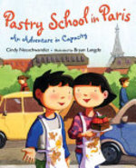 Book cover of PASTRY SCHOOL IN PARIS