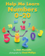 Book cover of HELP ME LEARN NUMBERS 0-20