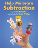 Book cover of HELP ME LEARN SUBTRACTION