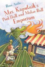 Book cover of MRS KAPUTNIK'S POOL HALL & MATZO BALL