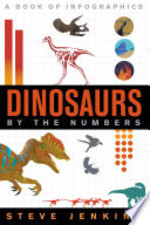 Book cover of DINOSAURS BY THE NUMBERS