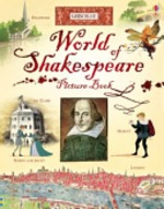 Book cover of WORLD OF SHAKESPEARE PICTURE BOOK