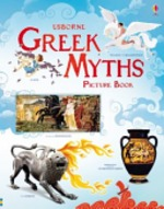 Book cover of GREEK MYTHS PICTURE BOOK