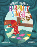 Book cover of MANY COLORS OF HARPREET SINGH