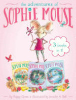 Book cover of ADVENTURES OF SOPHIE MOUSE - 3 BOOKS IN