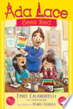 Book cover of ADA LACE 02 SEES RED