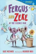 Book cover of FERGUS & ZEKE AT THE SCIENCE FAIR