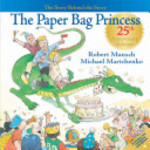 Book cover of PAPER BAG PRINCESS - THE STORY BEHIND TH