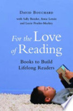 Book cover of FOR THE LOVE OF READING BOOKS TO BUILD L