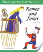 Book cover of ROMEO & JULIET FOR KIDS