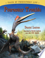 Book cover of PTEROSAUR TROUBLE
