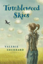 Book cover of TUMBLEWEED SKIES
