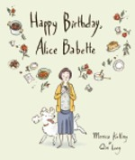 Book cover of HAPPY BIRTHDAY ALICE BABETTE