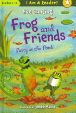 Book cover of FROG & FRIENDS PARTY AT THE POND