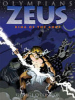 Book cover of OLYMPIANS 01 ZEUS KING OF THE GODS