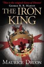 Book cover of ACCURSED KINGS 01 THE IRON KING