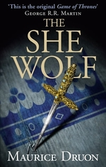 Book cover of ACCURSED KINGS 05 THE SHE WOLF