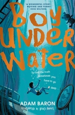 Book cover of BOY UNDERWATER