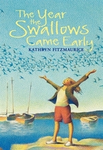 Book cover of YEAR THE SWALLOWS CAME EARLY
