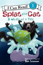 Book cover of SPLAT THE CAT - A WHALE OF A TALE