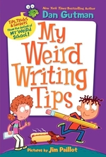Book cover of MY WEIRD WRITING TIPS