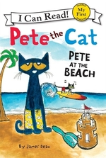 Book cover of PETE THE CAT - PETE AT THE BEACH