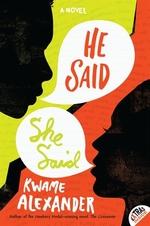 Book cover of HE SAID SHE SAID