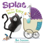 Book cover of SPLAT & THE NEW BABY