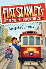 Book cover of FLAT STANLEY 12 ESCAPE TO CALIFORNIA