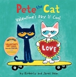 Book cover of PETE THE CAT VALENTINE'S DAY IS COOL