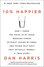 Book cover of 10 PERCENT HAPPIER