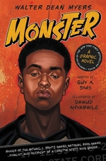 Book cover of MONSTER A GRAPHIC NOVEL