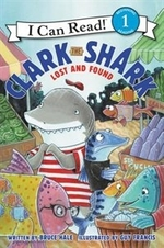 Book cover of CLARK THE SHARK LOST & FOUND