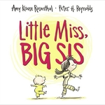 Book cover of LITTLE MISS BIG SIS