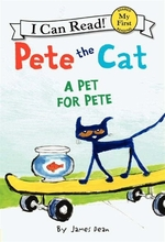 Book cover of PETE THE CAT - A PET FOR PETE