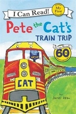 Book cover of PETE THE CATS TRAIN TRIP