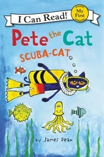 Book cover of PETE THE CAT SCUBA-CAT